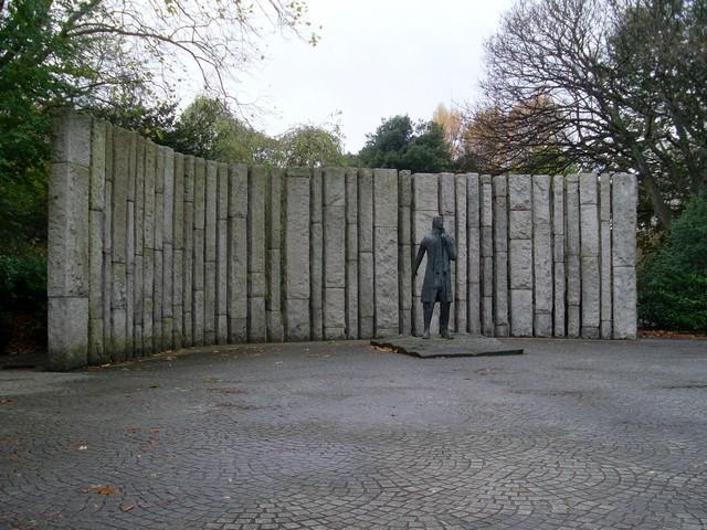 Wolfe Tone memorial, St. Stephen's Green