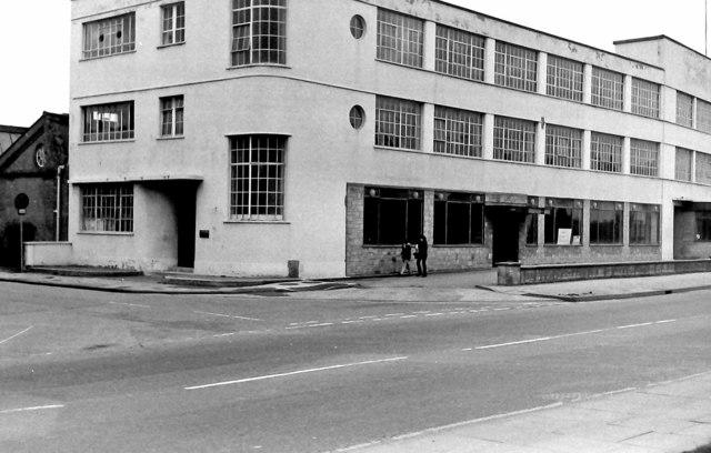Garrard Factory, Fleming way - close-up of part