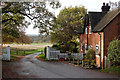 SP3565 : Looking west to Park Gates, Offchurch by Andy F