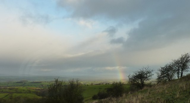 Rainbow over Ribble Valley