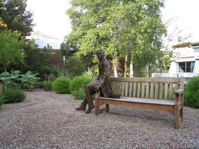 Charles Darwin Bicentenary Statue