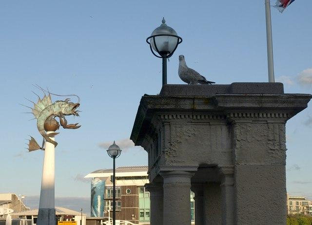 On West Pier, Barbican