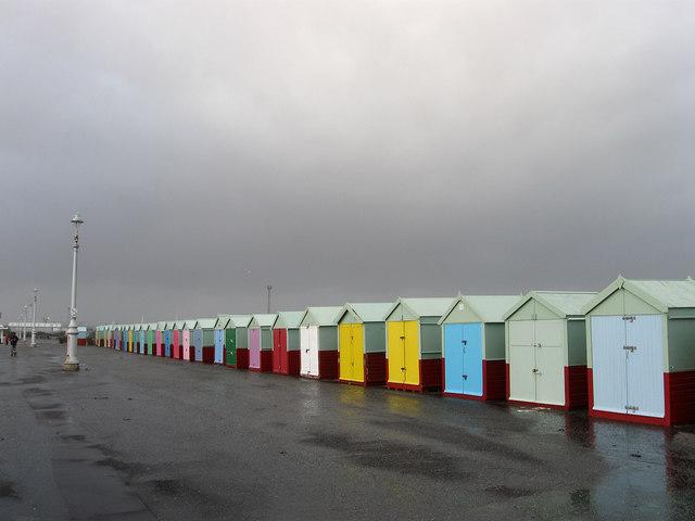 Beach Huts, Western Esplanade