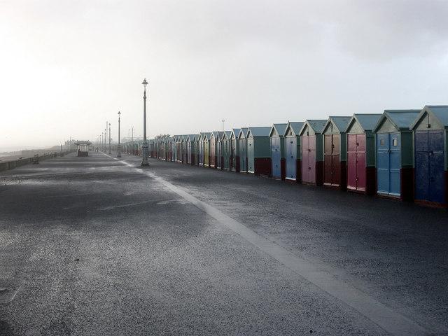 Heavy Downpour, Western Esplanade