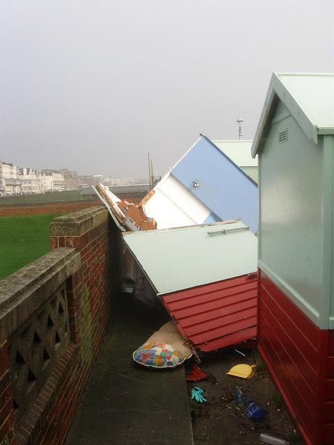 Storm Damage, Western Esplanade