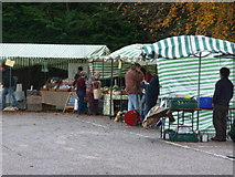 ST0207 : Cullompton : Cullompton Farmer's Market by Lewis Clarke