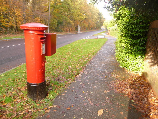 Creekmoor: postbox № BH17 198, Longmeadow Lane