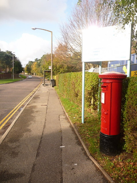 Creekmoor: postbox № BH17 7, Northmead Drive