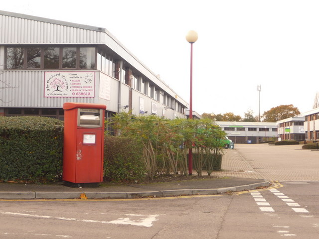 Poole: postbox № BH17 511, Albany Business Park