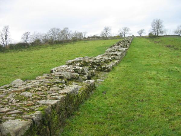 Hadrian's Wall near Black Carts Farm