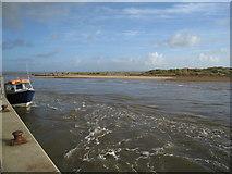 SZ1891 : A strong tidal surge - Mudeford by Sandy B