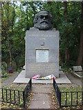 TQ2886 : Karl Marx' Grave by Oxyman