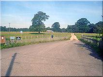SK4763 : Hardwick Park Farm - 2 by Trevor Rickard