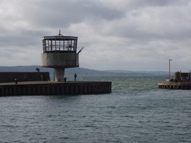 Radio control tower, Carrickfergus harbour