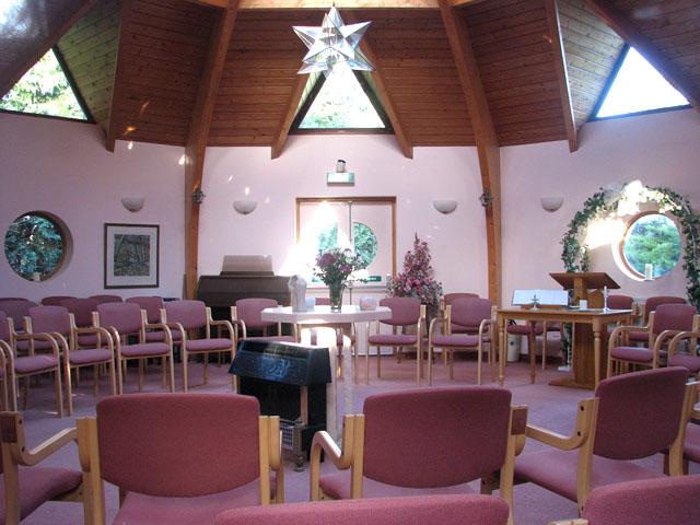 Mangreen Health & Healing Trust - the Light Centre (interior)