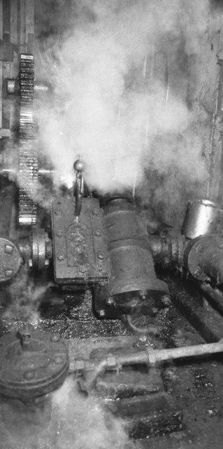 Steam engine, Red Bridge Mills, Ainsworth