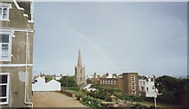 TQ3303 : The grounds at St Mary's Hall School, Brighton by nick macneill