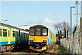 SP3165 : Trains stabled at Leamington Spa station by Andy F