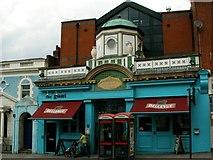 TQ2775 : Former Temperance Billiard Hall in Battersea Rise by tristan forward