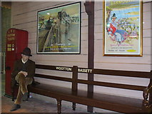 SU1484 : Reconstruction of Wootton Bassett station in Steam Museum by Colin Smith