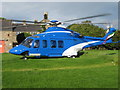 NY9173 : ELWOOD H.L.S. ( HELIPORT) BARRASFORD by Elwood