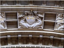 TQ2779 : Detail from Drury's Doorway to the Victoria and Albert Museum (iii) by tristan forward