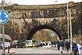 SD6726 : The Leeds-Liverpool Canal crossing Aqueduct Road, Blackburn by Bill Boaden