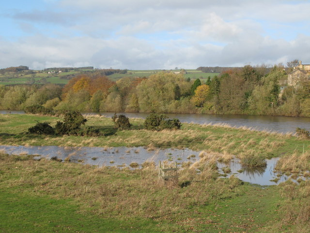 The River Tyne at Corbridge