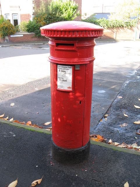 """""""Anonymous"""" (Victorian) postbox, Croft Terrace"""