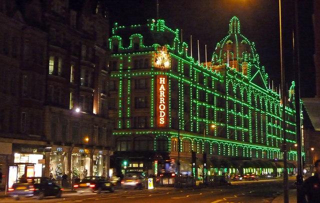 Harrods of Knightsbridge goes green