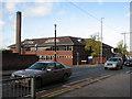 SK5541 : Radford Road Police Station by John Sutton