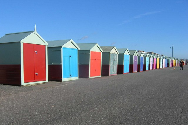 Beach Huts, Hove Seafront