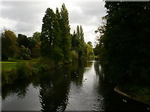 TQ2077 : View south from Classic Bridge by Peter S