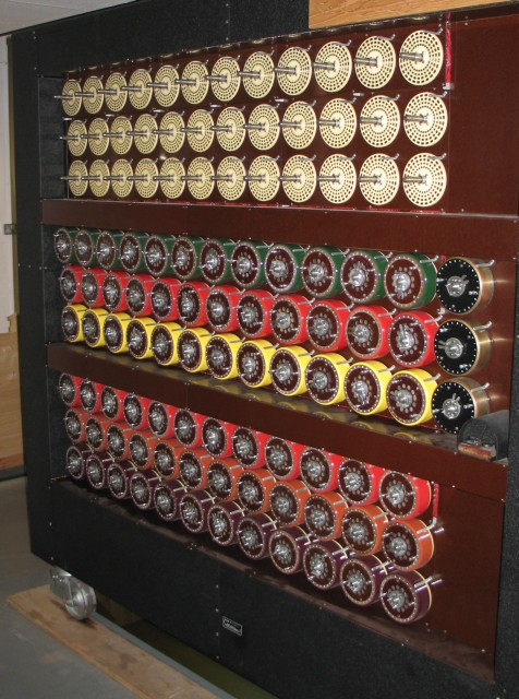 A Turing Bombe, Bletchley Park