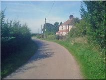 SK4763 : House on Newbound Lane by Trevor Rickard