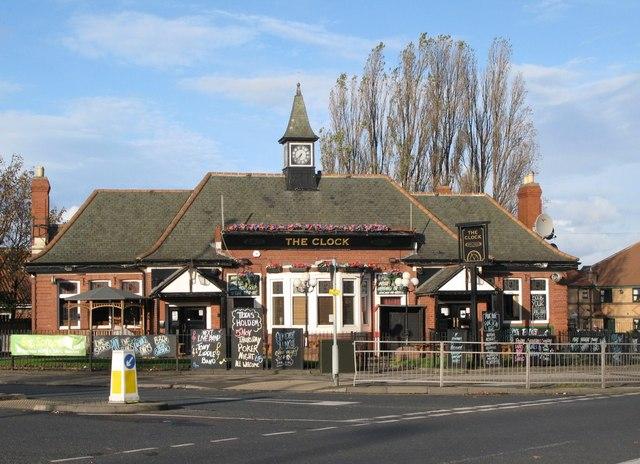The Clock, Victoria Road East