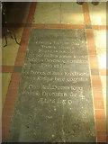 SK4665 : Tomb of Thomas Hobbes by Trevor Rickard