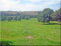 SK4564 : Path through Hardwick Park by Trevor Rickard