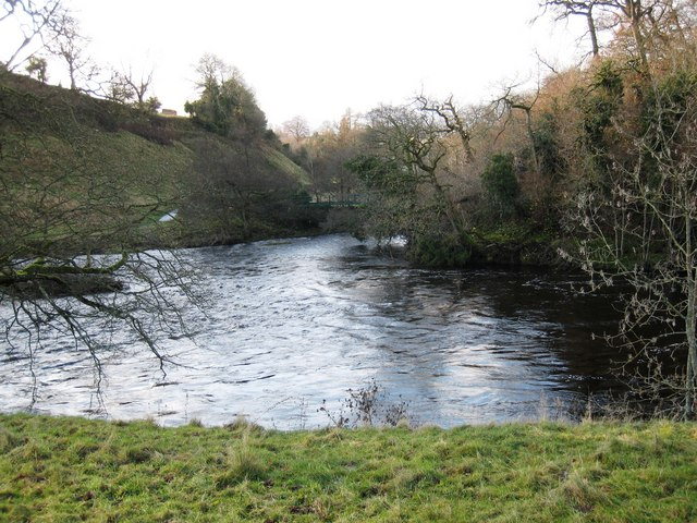Confluence of the River Balder and the River Tees