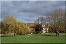 SP7006 : Houses facing the cricket ground by Bill Boaden