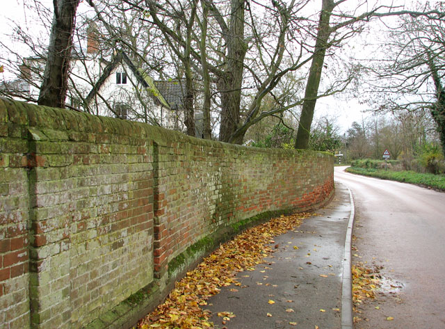 The Street past the Old Rectory