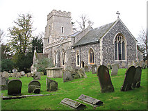 TM2384 : St Margaret's church by Evelyn Simak