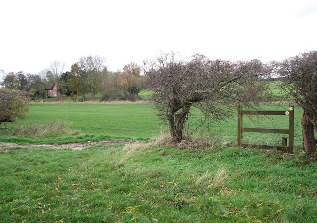 Footpath west of Starston