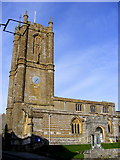 ST6601 : The Parish Church of St Mary the Virgin, Cerne Abbas by Gillian Thomas