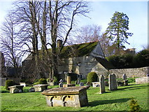 ST6601 : Cerne Abbas Burial Ground by Gillian Thomas