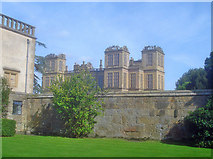 SK4663 : New hall from old hall by Trevor Rickard