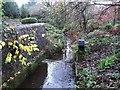 NS7278 : Kilsyth, canal feeder by Robert Murray