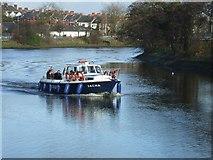 J3472 : River Lagan, Belfast by Kenneth  Allen