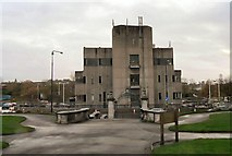 SJ9499 : Ashton under Lyne Telephone Exchange by Gerald England