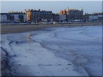 SY6878 : Weymouth Esplanade and Beach by Gillian Thomas